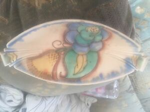 Carltonware Art Deco Oval Shaped Dish