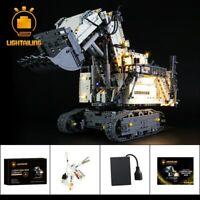 LED-Beleuchtungsset für LEGO 42100 Technic Liebherr R 9800 Baggerbeleuchtungsset