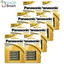 32 PANASONIC ALKALINE POWER AAA LR03 BATTERIES BLISTER 1.5V MICRO MN2400 E92 NEW