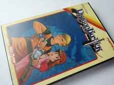 DRAGON BUSTER for MSX arcade Game Japan/Game cartridge,manual,Boxed set-C-