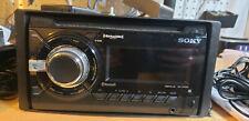 Sony WX-GT90BT  Double DIN Car Audio Bluetooth Receiver w/ SiriusXM Tuner