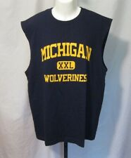 Men's Michigan Wolverines Sleeveless Shirt Size L New without Tags