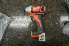 "New Milwaukee cordless 2656-20 1/4"" Hex impact driver M18 18V Lithium-ion"