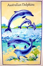 Tea Towel - Australian Dolphinss - 100% Cotton