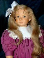 """""""Alicia"""" by German Artist Ruth Treffeisen - V.H.T.F. Headed Vinyl Girl Doll"""