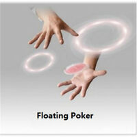 Floating Poker Card Hummingbird UFO Cards Stage Street Close-Up Magic Tricks THK