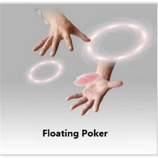 Floating Poker Card Hummingbird UFO Cards Stage Street Close-Up Magic TricksSC