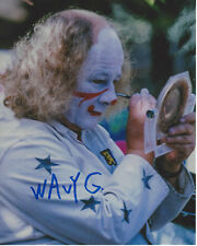 WAVY GRAVY - WOODSTOCK CULTURAL ICON SIGNED AUTHENTIC 8X10 PHOTO B w/COA HIPPIE