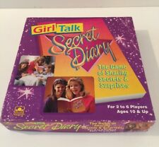 "Vintage ""Girl Talk Secret Diary"" Game by Golden - 1991 Edition - 100% Complete!"