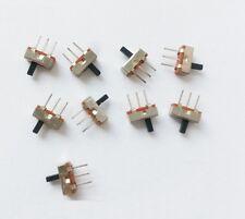 20pcs SS12D00G4 SPDT 1P2T 2 Position 3 Pin PCB Panel Vertical Slide Switch