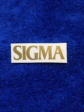 SIGMA Guitar Headstock Decal Sticker Repair Acoustic Martin Vintage Neck Project