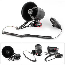 400W Car Warning Alarm Police Fire Siren Horn PA Speaker MIC System 6 Sound Loud