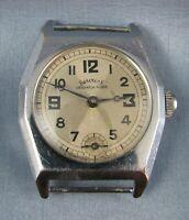 Vintage Services Watch Company Despatch Rider Mens Watch  c. 1930 Parts Repair