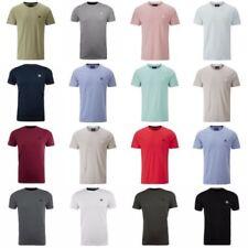 T-shirts bleus coton pour homme