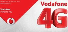 UK Vodafone Official Pay As You Go SIM Card (3-in-1 SIM for all phones)