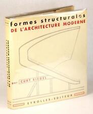 1965 LES FORMES STRUCTURALES DE L'ARCHITECTURE MODERNE CURT SIEGEL HC w/DJ
