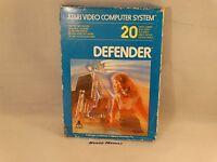 DEFENDER - ATARI 2600 VCS e 7800 - VIDEOGIOCO VINTAGE ANNI 80 - COMPLETO