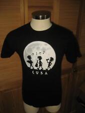 Cuba Musicians Black T Shirt S NWOT