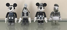 Medicom Toy Kubrick - Disney - Mickey, Goofy, Minnie, & Donald - lot of 4