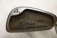Titleist DTR 4 Iron MRH True Temper Dynamic Gold R300U Steel (R1261)
