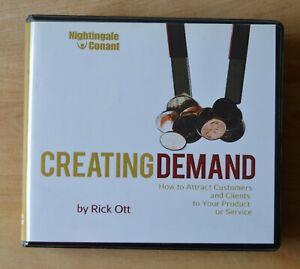 Rick Ott: Creating Demand - Nightingale Conant  - 6CDs + a Workbook CD
