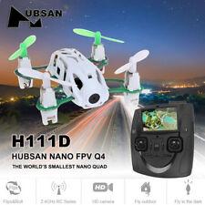 Hubsan H111D Nano 5.8G FPV RC Quadcopter 4CH 6 Axis 480P HD Altitude LED RTF Toy