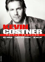 Kevin Costner - Triple Feature (DVD, 2008, 3-Disc Set,Bull Durham, Dances with