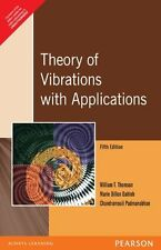 NEW-Theory of Vibrations with Applications by William T. Thomson 5 ED INTL ED