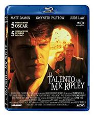 The Talented Mr. Ripley New Arthouse Blu-Ray Disc Anthony Minghella Matt Damon