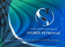 NEW F1 Flag Large Sauber Petronas F1 Formula One Flag 130 x 97cm