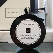 Jo Malone Wood Sage & Sea Salt Body Crème 5.9 oz / 175 ml - 70% Full