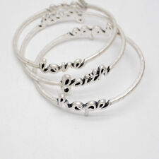 Premier Designs jewelry FAITH LOVE HOPE silver plated bangle women bracelet