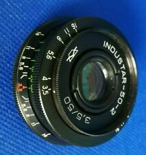 ⭐ KMZ INDUSTAR 50-2 50mm f/3.5 Russische UDSSR Soviet Pancake Lens M42 ⭐