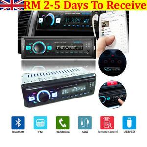 M4/Bluetooth 5.0 Car Stereo Radio Audio MP3 Player 1 DIN USB DAB+ FM AM AUX RDS