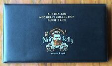 Ned Kelly EMPTY Bank Note Album 6 Clear Thick Pages Holder For Notes Book ✔️