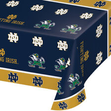 2-ct Notre Dame Fighting Irish Premium Plastic Table Covers College Party