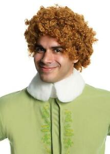 Buddy the Elf Wig Adult Costume Accessory NEW Elf The Movie