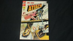 Our fighting forces in action ATTACK #10 (Feb 1971 Charlton comics)
