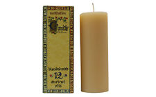 2 X Meditation Range Tall Candles-Blend of 12 Essential Oils-70 Hours per candle