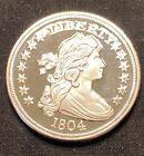 1 Ounce .999 Silver Round Bullion Draped Bust Copy