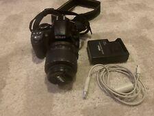 Nikon D D3100 14.2MP Digital SLR Camera - Black (Kit w/ AF-S G DX VR 18-55mm