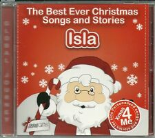 ISLA - THE BEST EVER CHRISTMAS SONGS & STORIES PERSONALISED CD