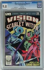 Vision and the Scarlet Witch #1 (Marvel 1982) CGC 9.8 NM/MT - 1st solo series