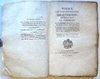 DELARBRE - Notice sur l'ancien royaume des Auvergnats - 1805 - Auvergne