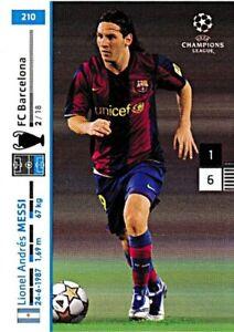 PANINI Champions League 2007/08 - Lionel Messi - Nr. 210 - FC Barcelona