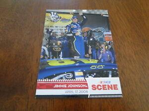 2009 Press Pass Jimmie Johnson Card #72