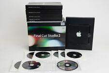 Apple Final Cut Studio 2 Final Pro 6 in Box Academic Version