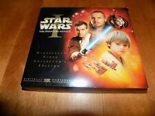 STAR WARS THE PHANTOM MENACE I COLLECTOR'S EDITION BOOK FILM CELL VHS TAPE SET