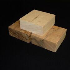 Drechselholz 3 st. Blöcke Schalenrohling  Black Limba Edelholz Bastelholz Holz