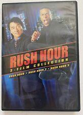 Rush Hour 1-3 Collection (Dvd) Jackie Chan Chris Tucker